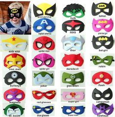 Wolverine clipart party mask Batman Halloween niños Capitán Art