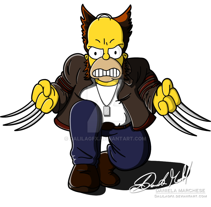 Wolverine clipart tiger claw DeviantArt Wolverine on DalilaGFX by