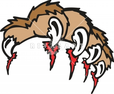 Wolverine clipart tiger claw Claws Ripping Ripping Claws Tiger
