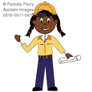 Woman clipart builder & builder stock clipart Acclaim