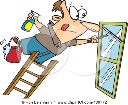 Window clipart washing windows Clipart window the window Cleaning