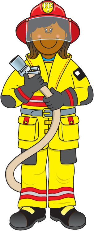 Woman clipart fire fighter Clip art Firefighter Clipart Free