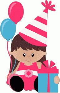 Woman clipart happy birthday Find Birthday Clipart on 239