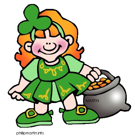 Woman clipart leprechaun With & best Patricks Girl