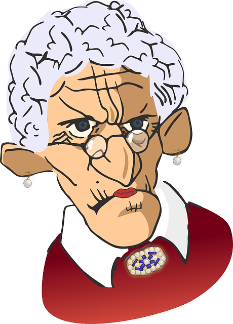 Woman clipart old age Grandmother Free Max Old Surprise