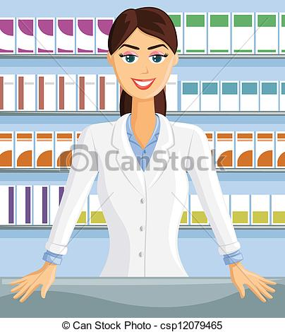 Woman clipart pharmacist  Pharmacist Search Pharmacist Art