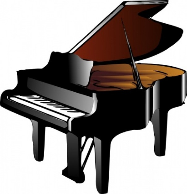 Woman clipart pianist Vector Piano I Woman art