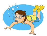 Woman clipart scuba diver Diver clipart clipart diver Woman