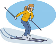 Skiing clipart woman Results Ski Kb for