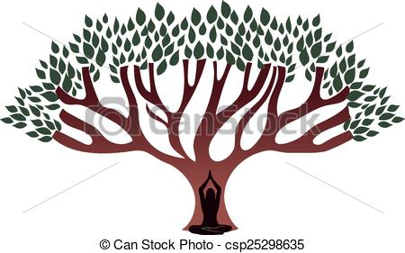Woman clipart tree Thick  the Woman big