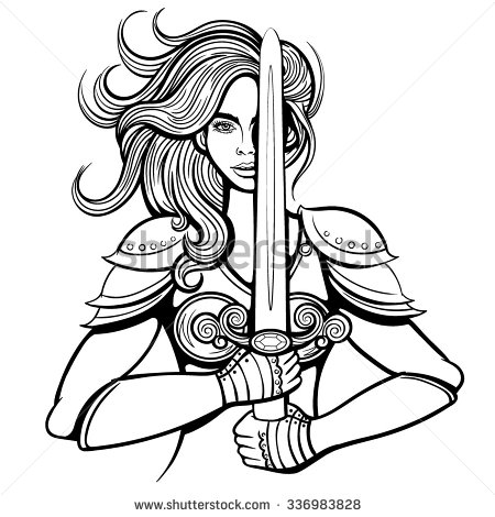 Woman Warrior clipart Warrior Download drawings #16 Warrior