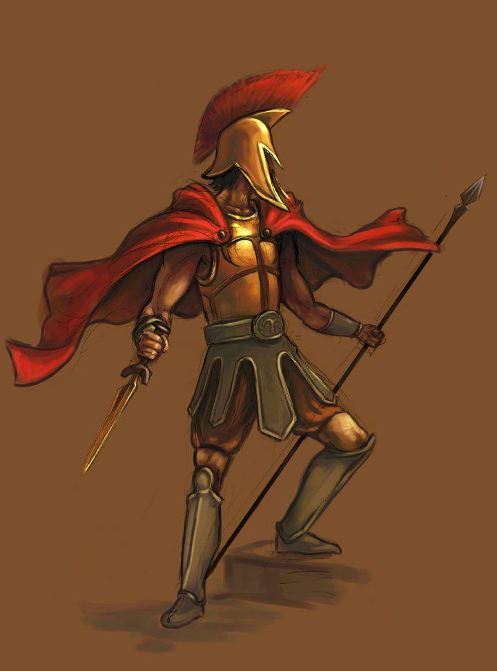 Achilles clipart greek hero Deviantart on com TaekwondoNJ Of