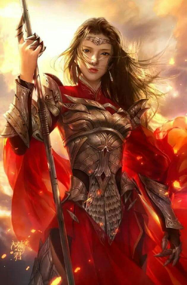 Woman Warrior clipart chinese female Chinese 2015 DMing girl Pinterest