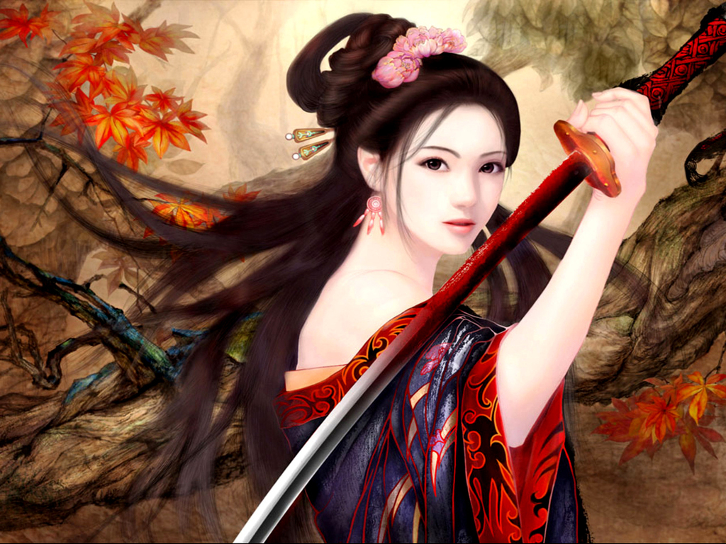 Woman Warrior clipart chinese female Your Name? What's Knight