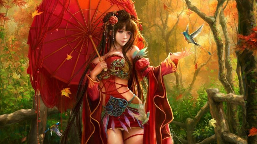 Woman Warrior clipart chinese female Girl com Fantasy chinese Free