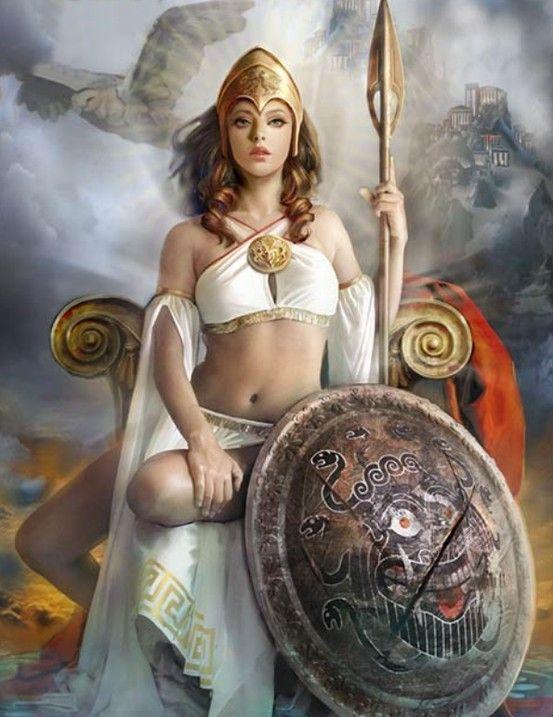 Woman Warrior clipart greek mythology Mythology of Order  Athena