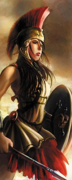 Woman Warrior clipart greek mythology Patiently and Queen his he
