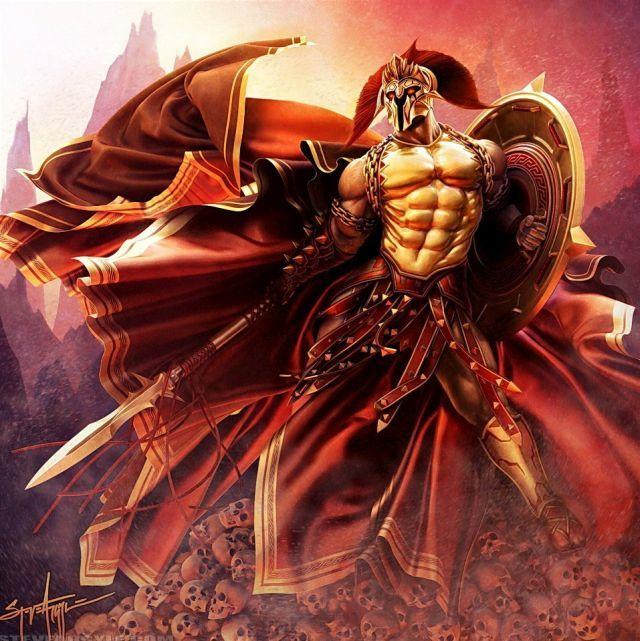 Woman Warrior clipart greek mythology Deities Myths Pinterest best Ares