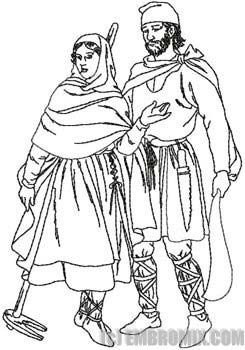 Woman Warrior clipart medieval farmer 70 on Medieval Medieval 15th