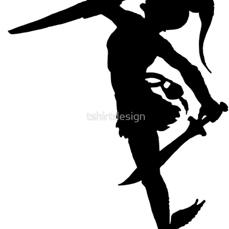 Woman Warrior clipart perseus By Perseus Redbubble Silhouette