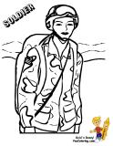 Woman Warrior clipart woman soldier Uniform Coloring Soldier Picture Female
