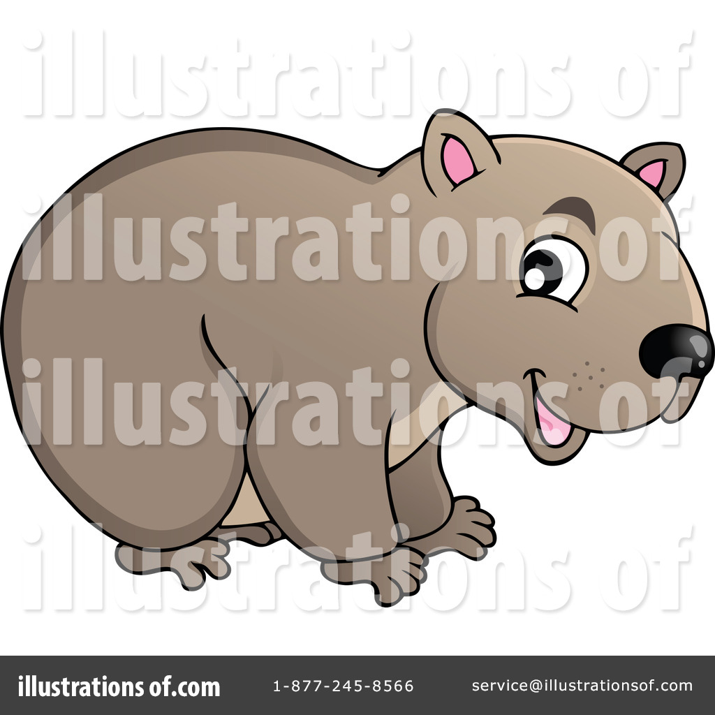 Wombat clipart Wombat visekart Clipart Free by