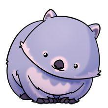 Wombat clipart cute Pinterest  Oh <3 I