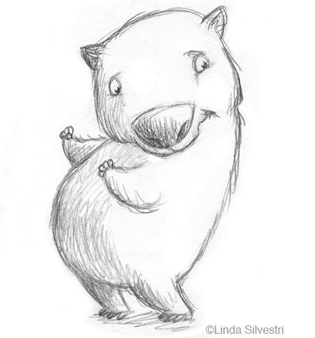 Wombat clipart cute Wombat clipart Fans clipart Clipart