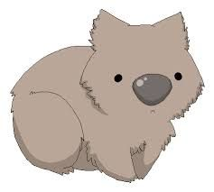 Wombat clipart cute Wombat 162 love drawing on