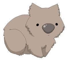 Wombat clipart cute Cute wombat love on best