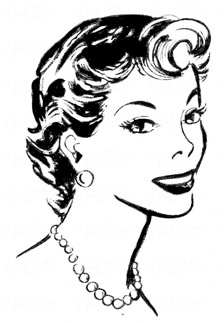 Phone clipart 50s woman Cliparts woman clipart Girl Cliparts