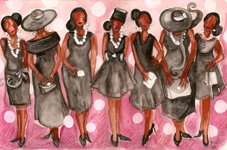 Woman clipart african american church #14