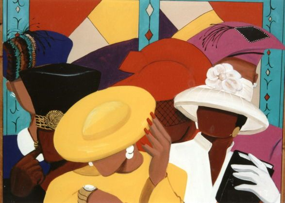 Woman clipart african american church #10
