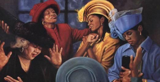 Woman clipart african american church #9