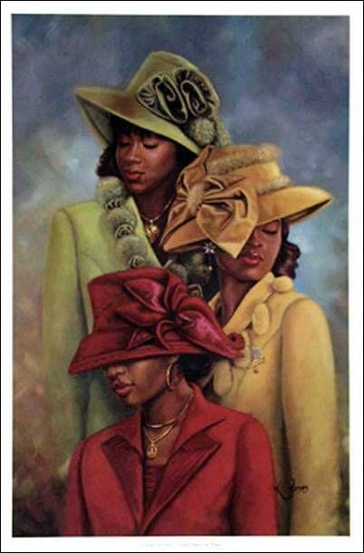 Woman clipart african american church #5