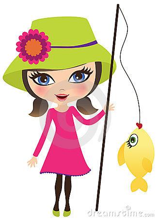 Women clipart art Woman%20fishing%20clipart Images Panda Fishing Clipart