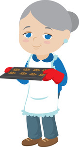 Baking clipart oven mitt Clip Cookies Clipart Free Images