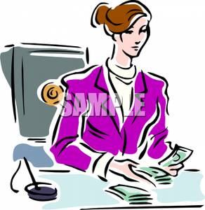 Woman clipart banker Clipart Clipart Free Images banker%20clipart