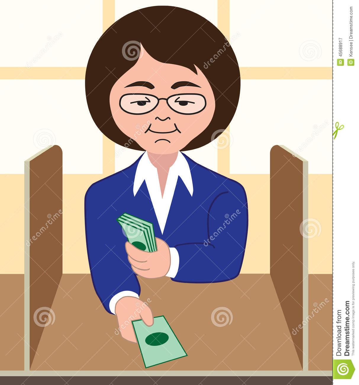 Woman clipart banker Free Art Panda Clipart banker%20clipart