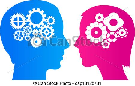 Women clipart brain Of brain csp13128731 woman woman