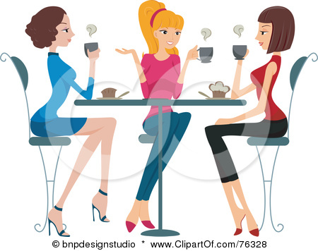 Women clipart breakfast & our of the Blossoms