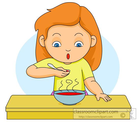 Women clipart breakfast #7