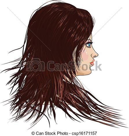 Women clipart brown hair Brown Hair Hair Brown Brown