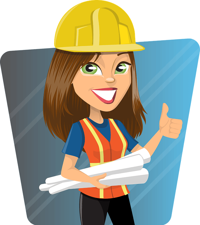 Women clipart builder Stock builder: builder likely And
