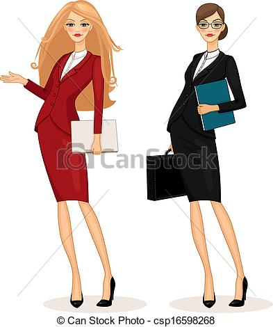 Woman clipart business woman Business Collection pen woman with
