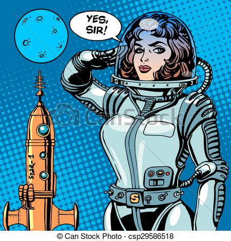 Women clipart captain Spaceship spaceship  captain science
