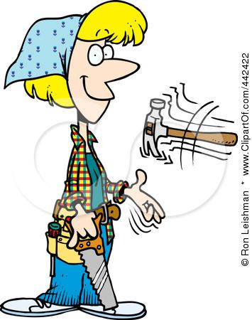 Woman clipart carpenter Clipart Carpenter  Girl