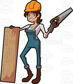 Woman clipart factory worker Slab  Worker A And