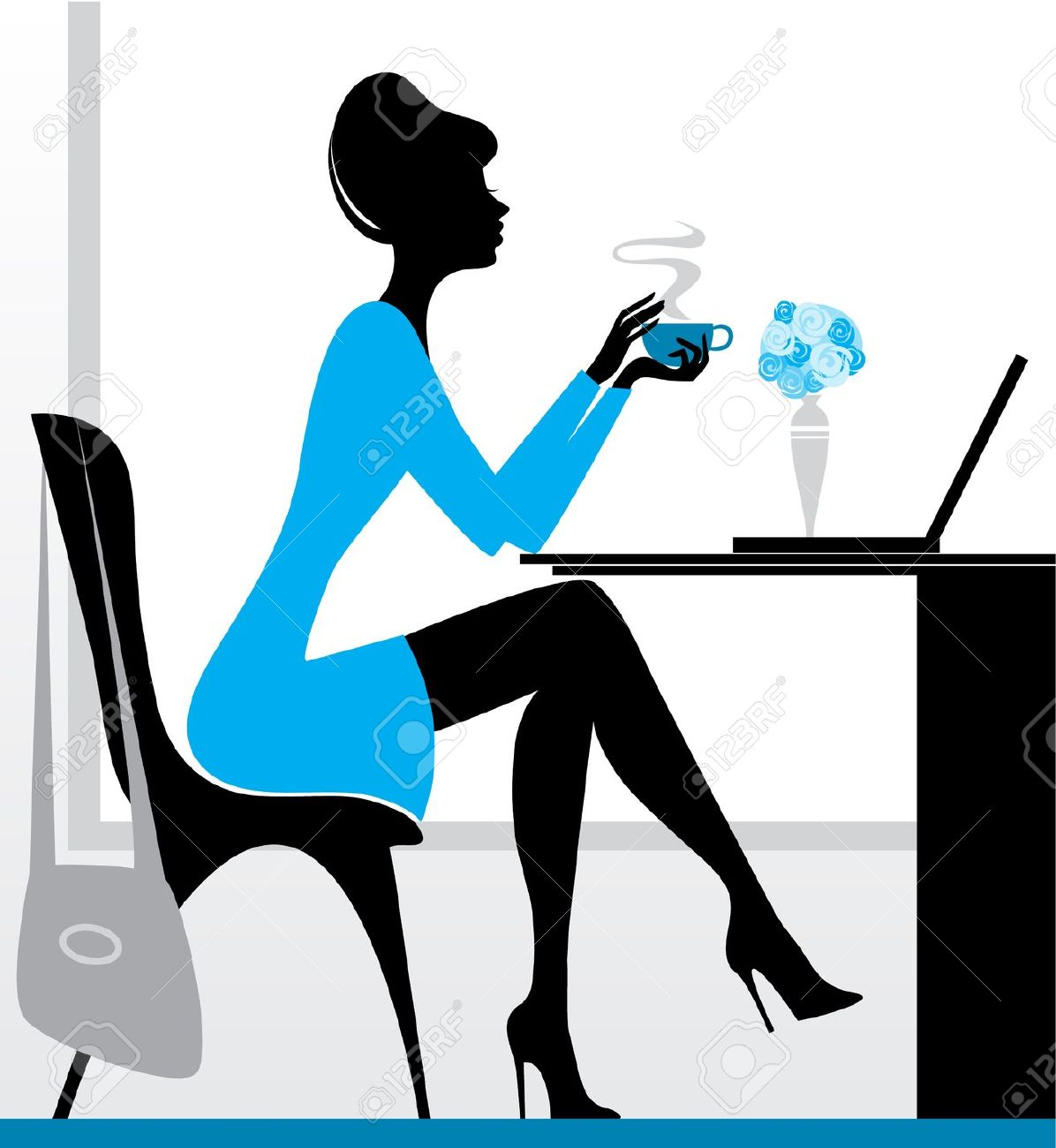 Women clipart ceo Coffee Drinking (69+) collection Clipart