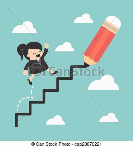 Woman clipart climber Vector Woman  Woman csp28870221